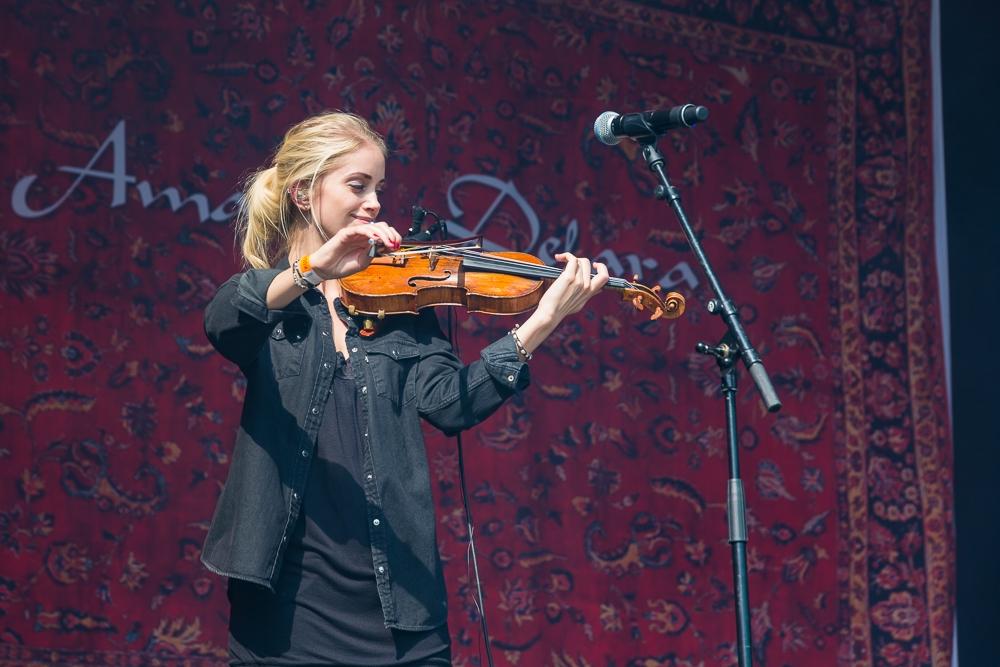 Amanda Delera på Kulturfest Tøyen 2017